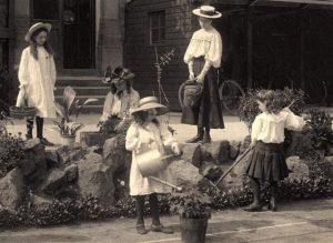 History Gardening