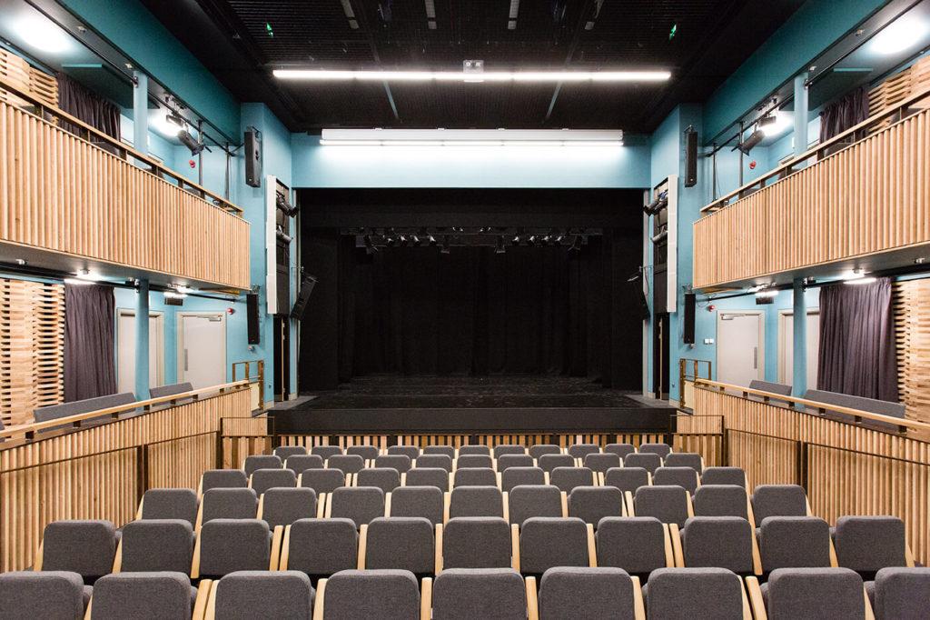 nottingham girls' high school drama facility