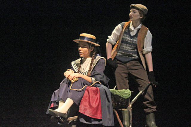 a photo from a nottingham girls' high school performance of The Secret Garden