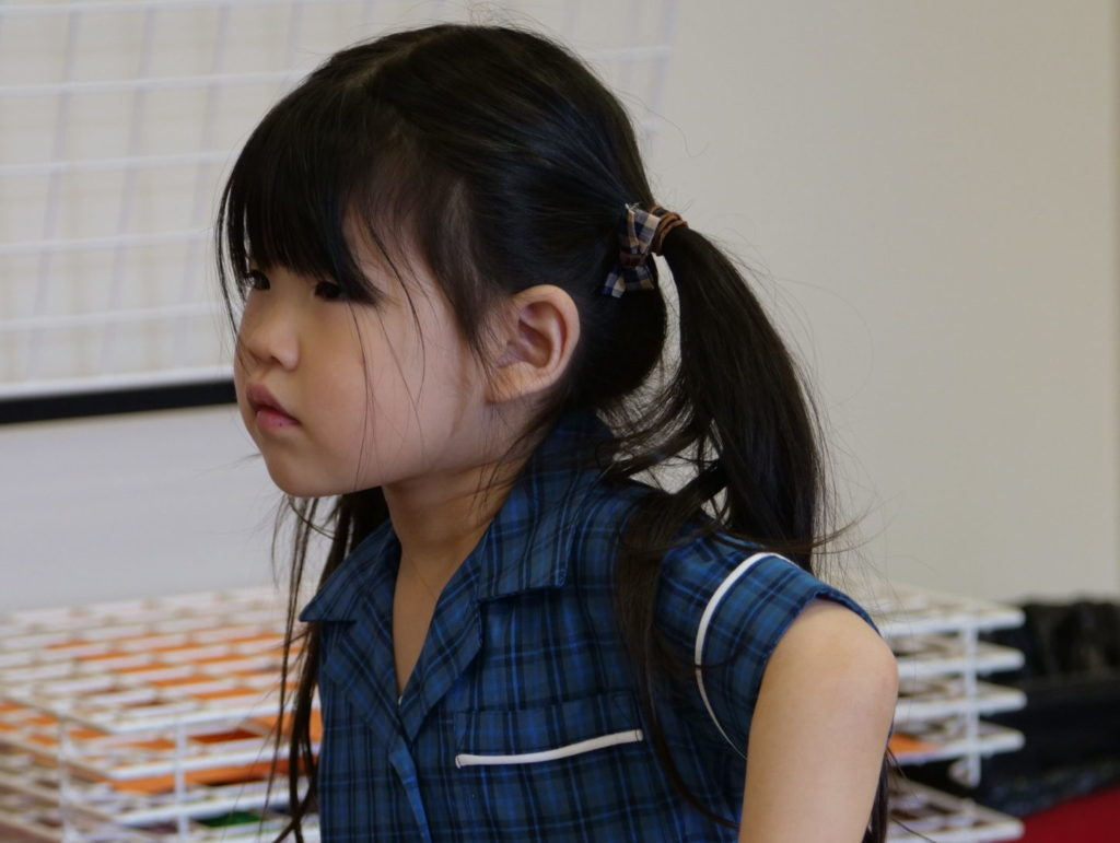 nursery school child