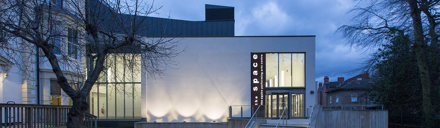 the space performing arts centre exterior