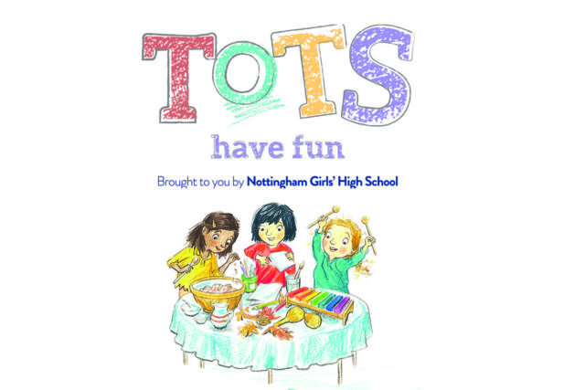 tots have fun poster
