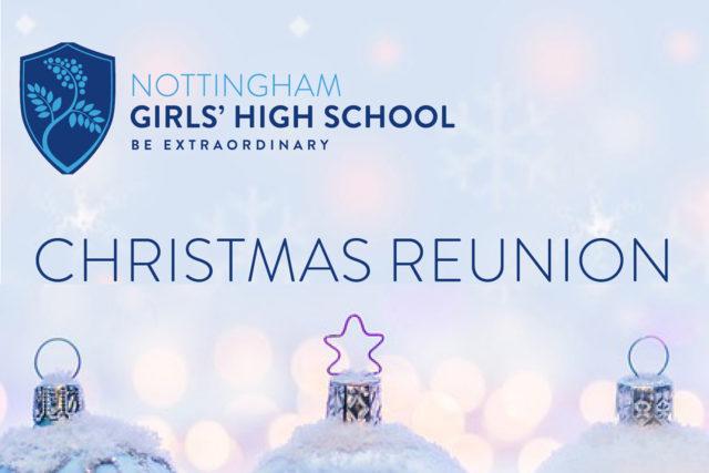 Nottingham girls' high school christmas reunion