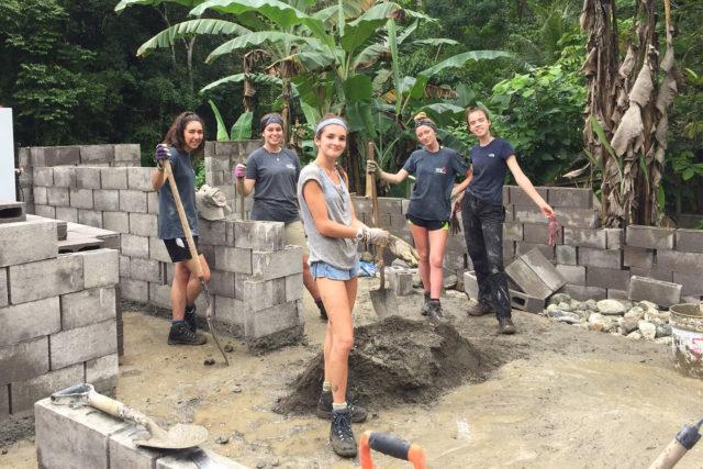 building a house overseas